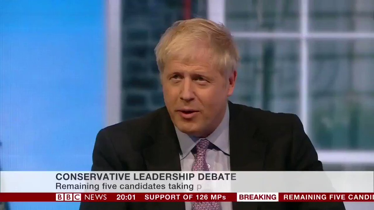 .@BorisJohnson says the UK must come out of the EU by the 31 October