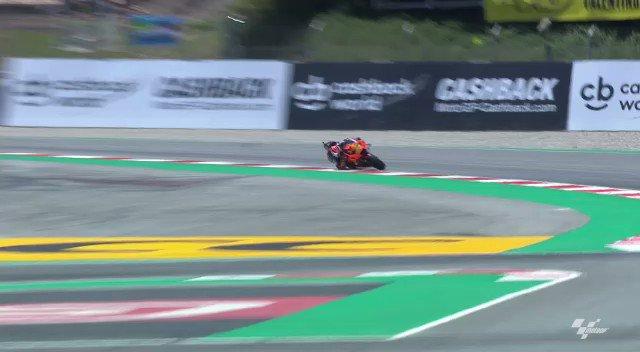 Sliiiiiide #Supermotard 🔥 @MotoGP #CatalanGP