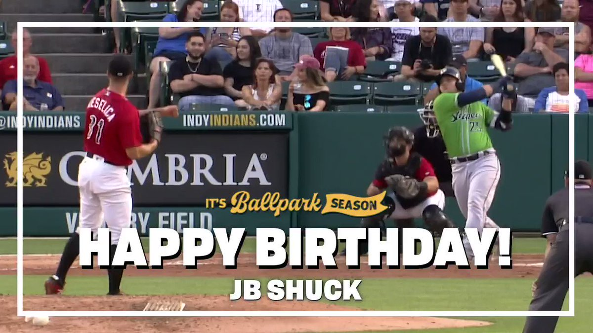 Heres to hoping your birthday is as great as this catch. ✊ Happy birthday, JB Shuck! 🎂 #RollTribe