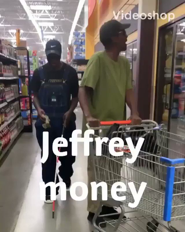 Jeffrey out here dropping money! What would y'all do? 💵😳😂 @Funny_Marco