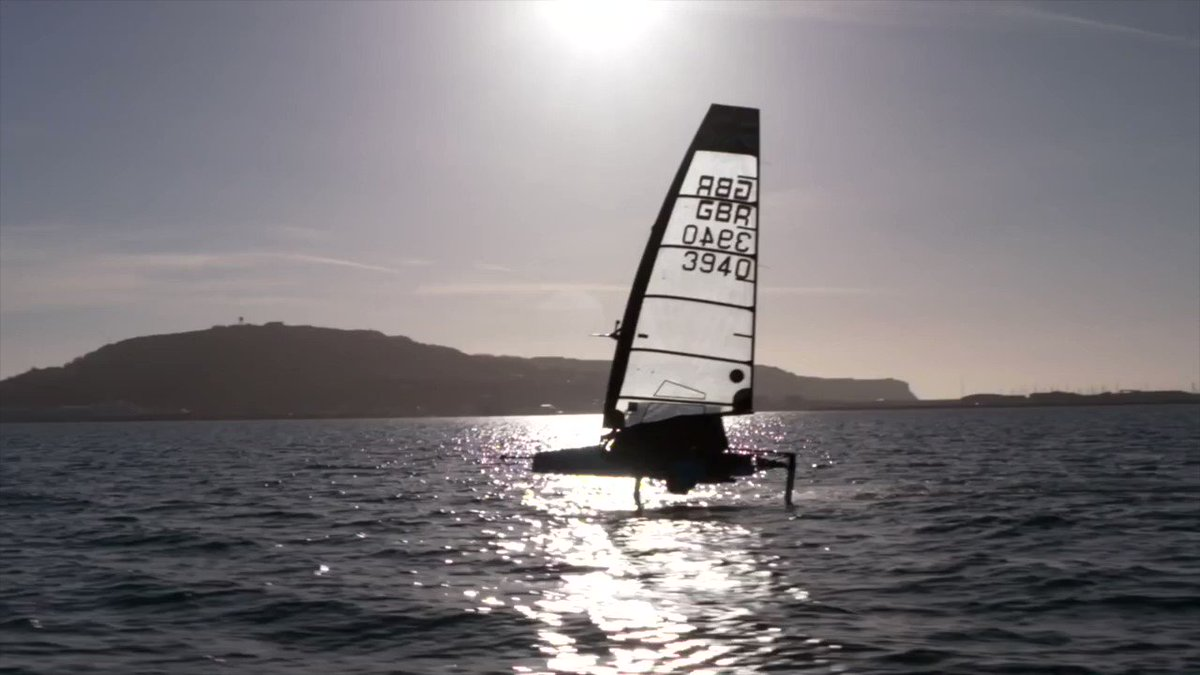 Start your adventure! Learn to dinghy foil with the experts #TopTips #RYAFutureTalent