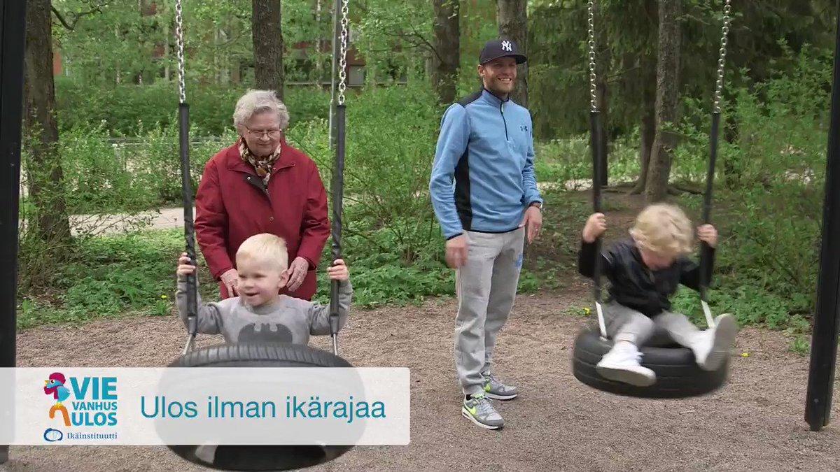 Image for the Tweet beginning: Perheet yhdessä ulos! Nauttikaa liikkumisesta,