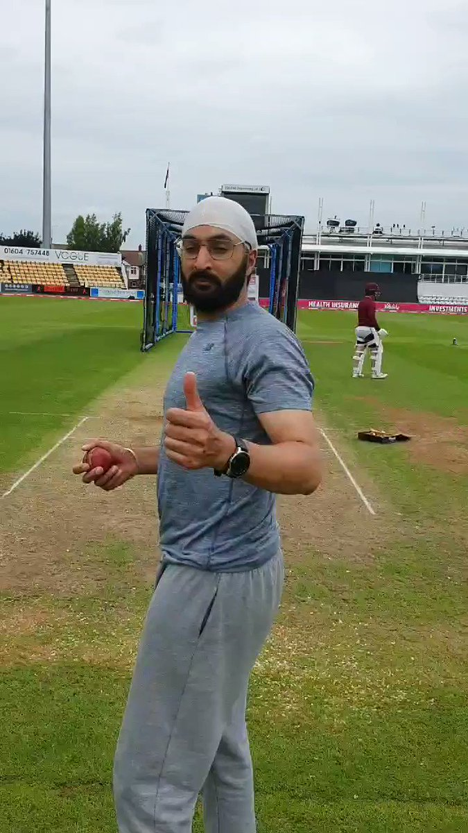 Bowling @NorthantsCCC feeling ready to play professional cricket again and waiting on an opportunity, keep persevering and being ready @englandcricket @SkyCricket @bbctms @talkSPORT @MattColes_90 @RobKeogh91 @WhiteOwlBooks @SSMAgents @StarPeopleM @AlexWakely1 #CWC19 #NZvSA