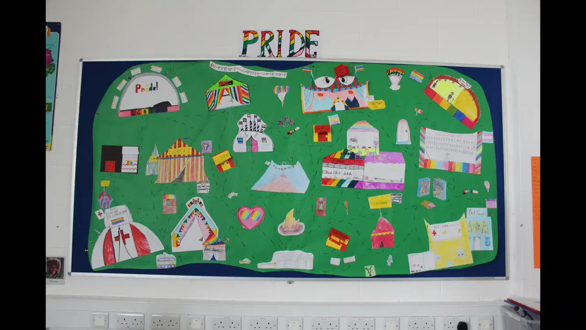 Hey world! In fifth class we have been learning about all things LGBTQ+! We came up with some great ideas and created this 'Pride Festival of Dreams' Its full of ideas of what we would like to see at pride festivals (Its only imaginary for now but we're working on that ;) )