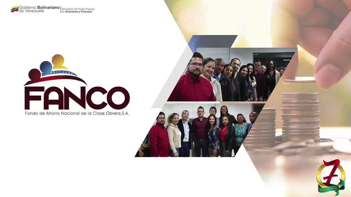 @Fanco_Oficial 19 de junio arriba a su #SéptimoAniversario ¡Asegurando el Pago de las Deudas Sociales de Nuestra Clase Trabajadora!