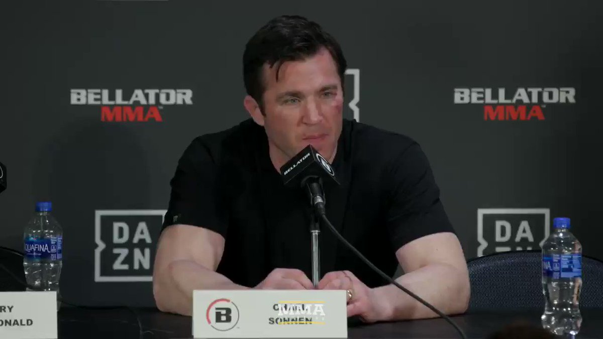 I've been asked enough questions about this moment from last week's Bellator press conference, I think it's worth addressing.