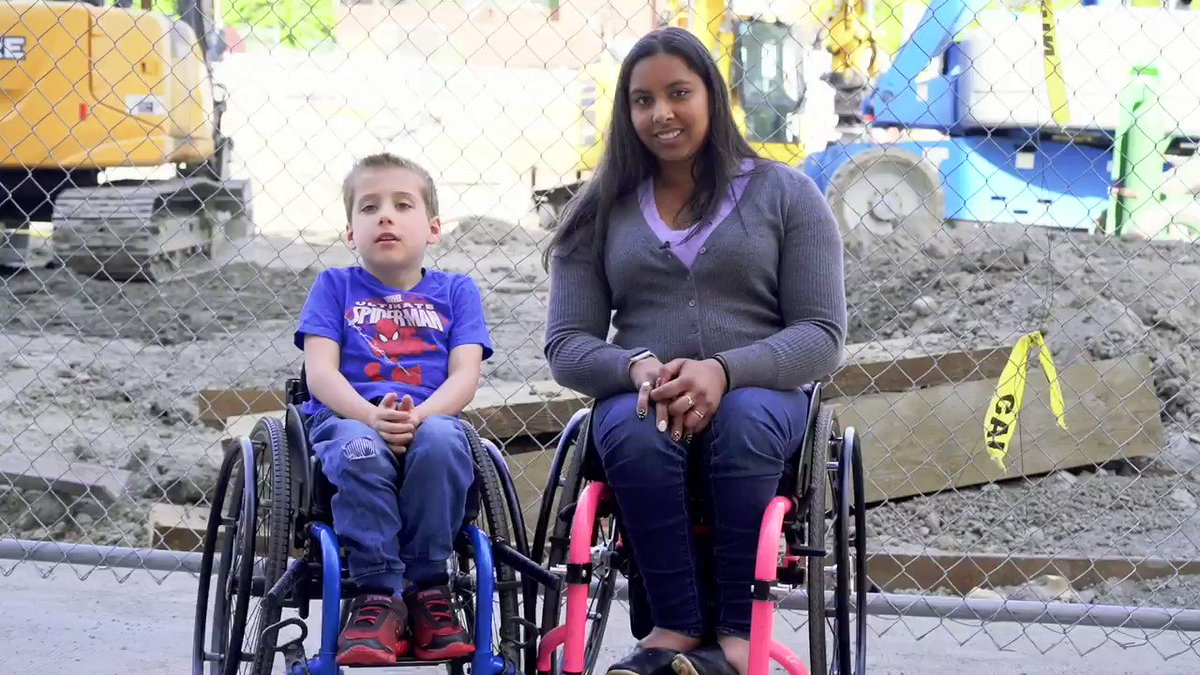 We teamed up with @rootedinrights to create a video on the importance of maintaining a safe space for people to travel through construction sites. These tips aren't only useful for wheelchair users, they make sites safer for everyone!