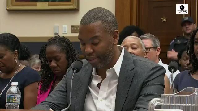 """Ta-Nehisi Coates on McConnell's reparations remarks: """"We grant that Mr. McConnell was not alive for Appomattox, but he was alive for the electrocution of George Stinney. He was alive for the blinding of Isaac Woodward. He was alive to witness kleptocracy in his native Alabama."""""""