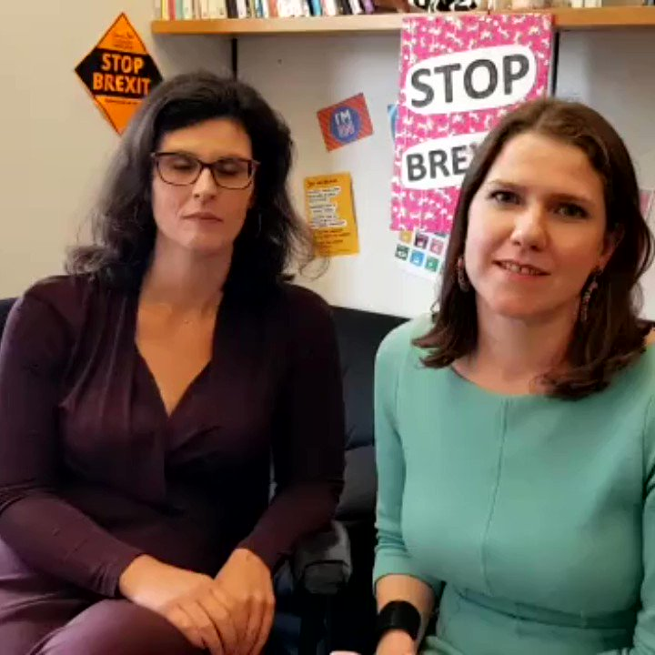 . @LaylaMoran and I just met with The Electoral Commission to discuss problems faced by EU citizens voting in the #EuropeanElections. The message was clear - this was the Government's fault, they could have prevented these problems and didn't.   More here ⏬