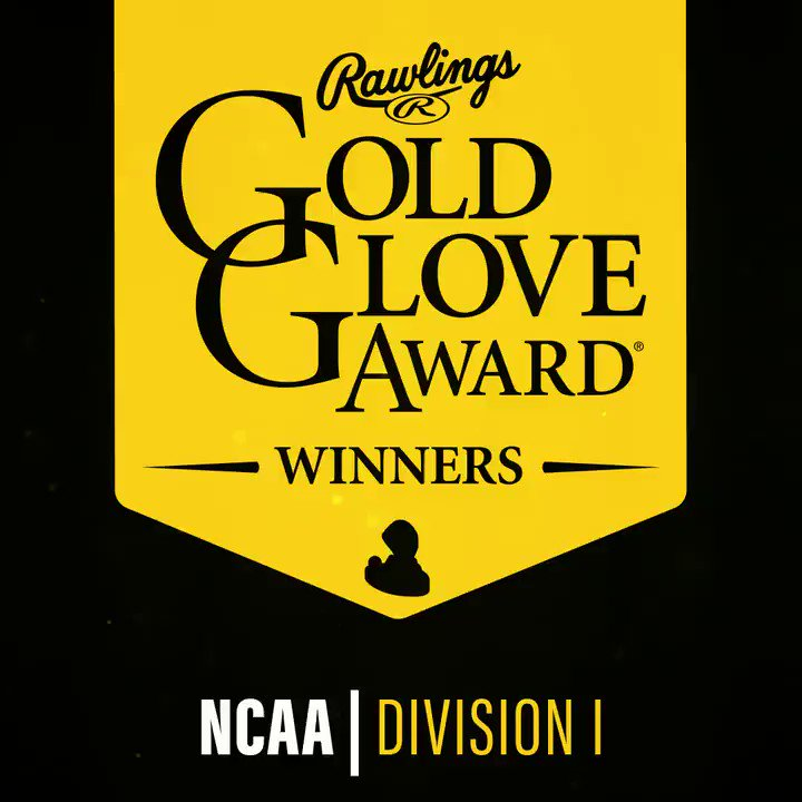 The @ABCA1945 #Rawlings #GoldGlove Award winners for @NCAACWS @NCAA Division I have been announced! Congrats!
