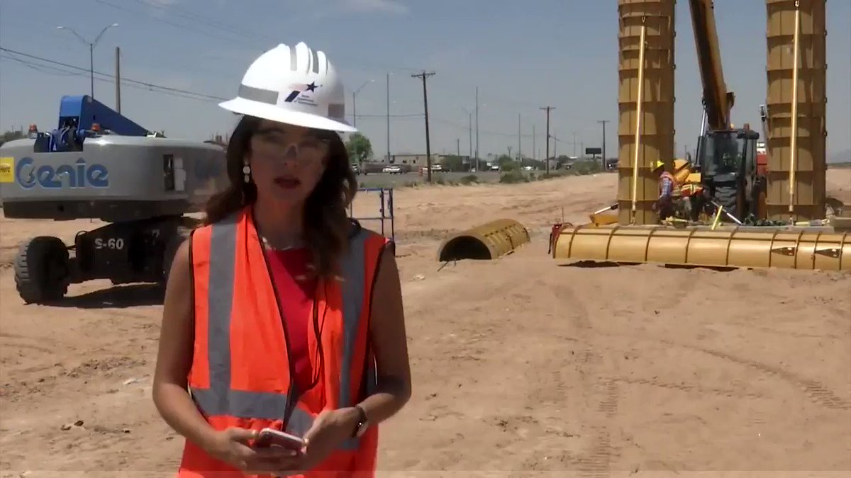 Work continues on our Montana Expressway project. The first columns on the project are now up! KTSMtv TatianaKTSM has the latest! 🚧🛣👷🏻♀️