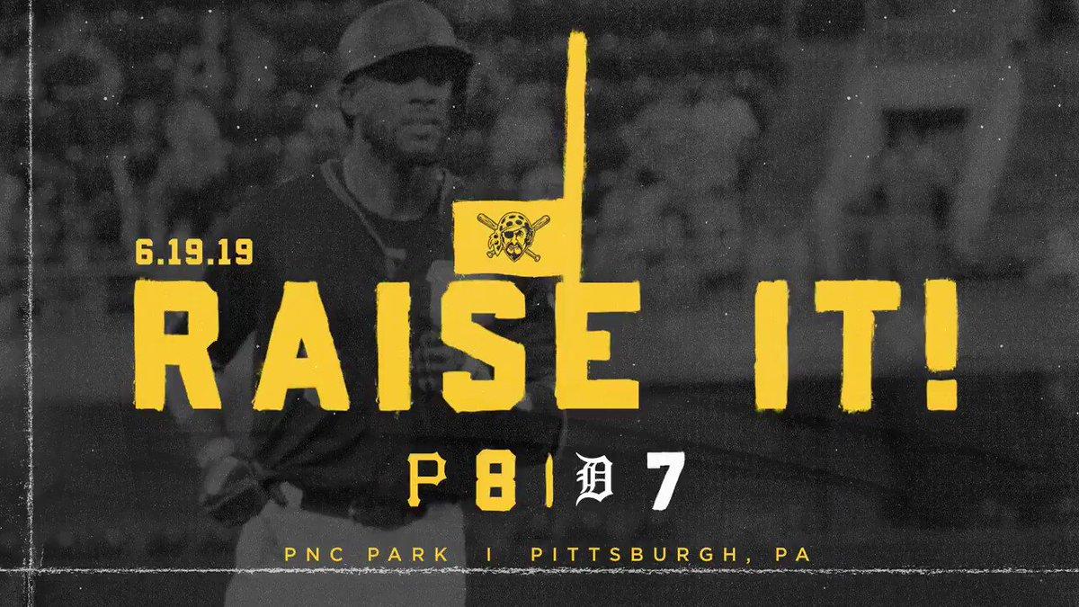 @Pirates's photo on #RaiseIt