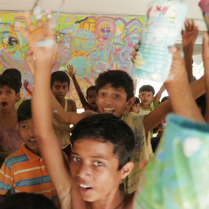 Image for the Tweet beginning: Hands up for every child's