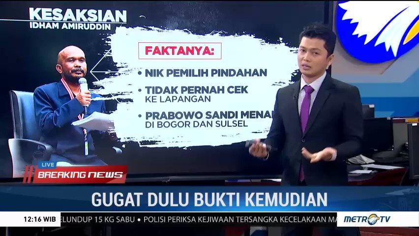 Berikut #FACTCHECKMETROTV seputar fakta persidangan ketiga sengketa hasil #Pilpres2019 (3) #KnowledgeToElevate #MetroTV #KawalSidangMKdengandamai