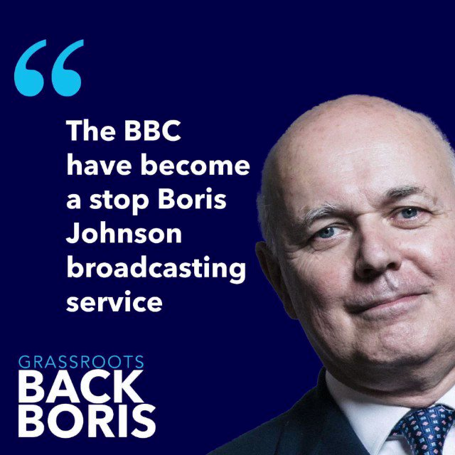"""The BBC debate was an utter shambles"" ""The BBC has become a stop Boris Johnson Broadcasting Service. ""If they were running a newspaper, they would find themselves in the dock by now, because you have to check your sources otherwise the legal teams are on your neck"" @MPIainDS"