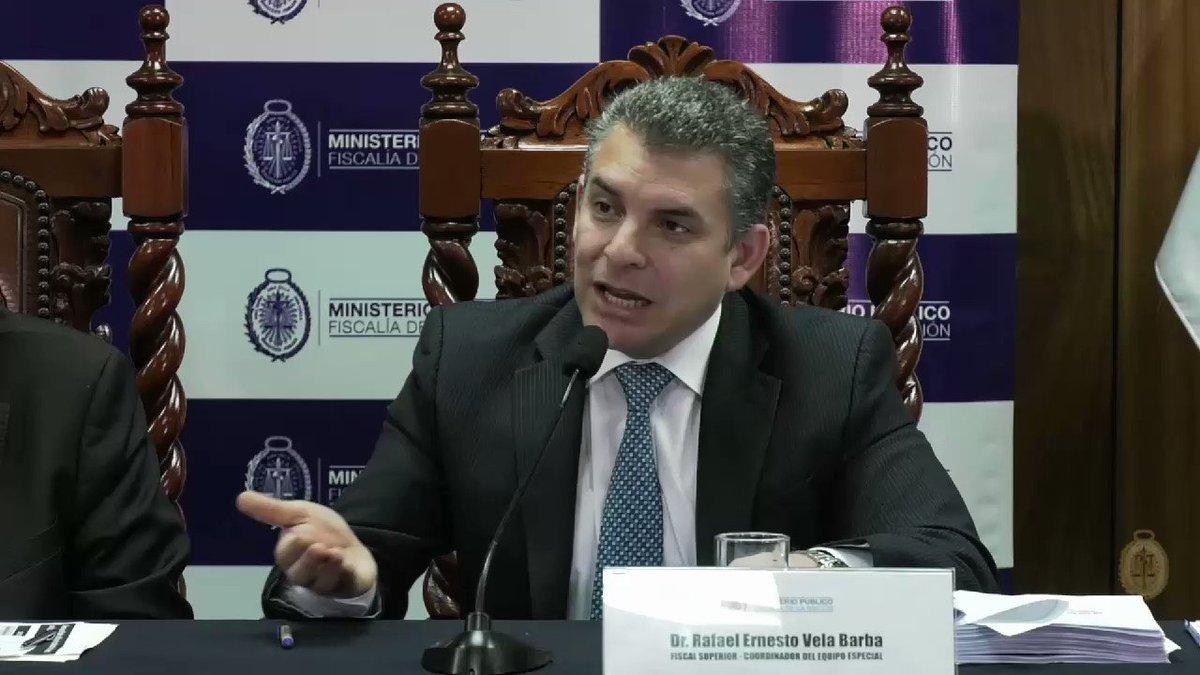 """Respecto al pago de las reparaciones civiles, el fiscal Rafael Vela informó que la Procuraduría y el Ministerio Público, en un esfuerzo conjunto, están garantizando que se pague la reparación civil y, objetivamente, eso se está produciendo. """"Algo que nunca ha pasado"""", recalcó."""