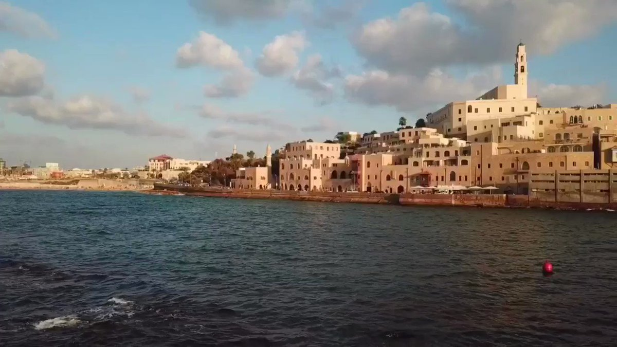 Paradise is here! #Jaffa🏖️☀️ Video by Santos Serfaty