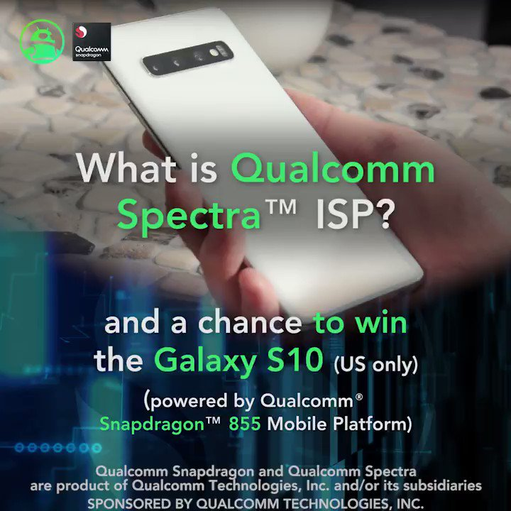 Qualcomm ISP Explained: http://andauth.co/SGWFLP   Enter the @Qualcomm #sponsored Galaxy S10 giveaway (US only) here: http://andauth.co/S10Contest   #technology #photography #giveaway