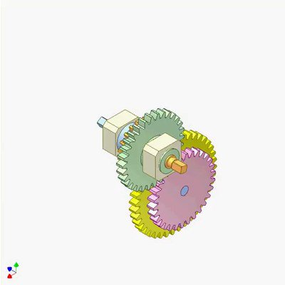 -Gear Planetary Mechanism A