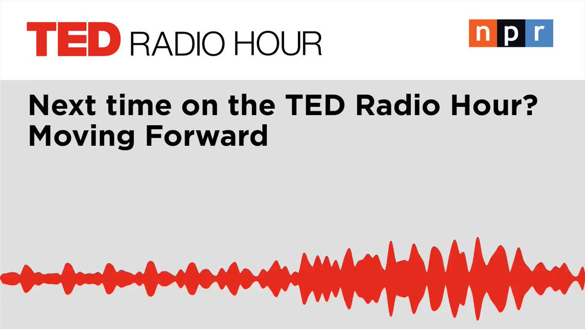 New episode out tomorrow: #TED speakers @noraborealis, @suleikajaouad, and Lindy Lou Isonhood describe how we can move forward from loss, tragedy, or trauma.