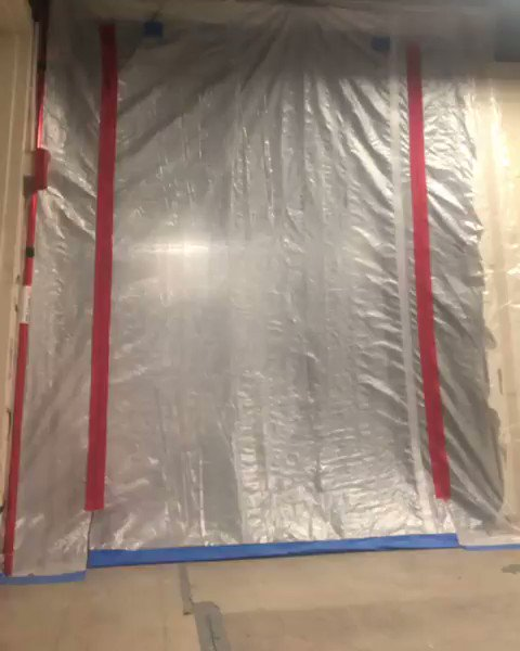 Image for the Tweet beginning: James talks about ZipWall® Heavy-Duty