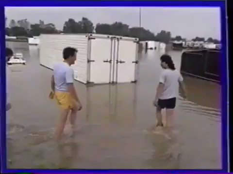 Today we go back to 1990 and the Springnationals flood.  This just proves that rainouts are part of the storied history here at National Trail Raceway.  #nationaltrailraceway #ohiohistory #vintagedragracing #lickingcounty #columbus #nhradragracing #nhrahistory #ohiohistory