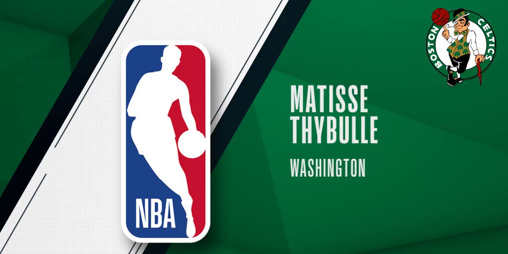 With the 20th pick of the @NBADraft, the @celtics select @MatisseThybulle! #NBADraft 2019 presented by State Farm