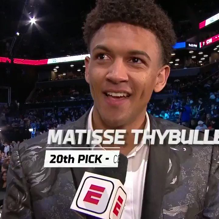 After being drafted, @MatisseThybulle remembers his late mother. #NBADraft