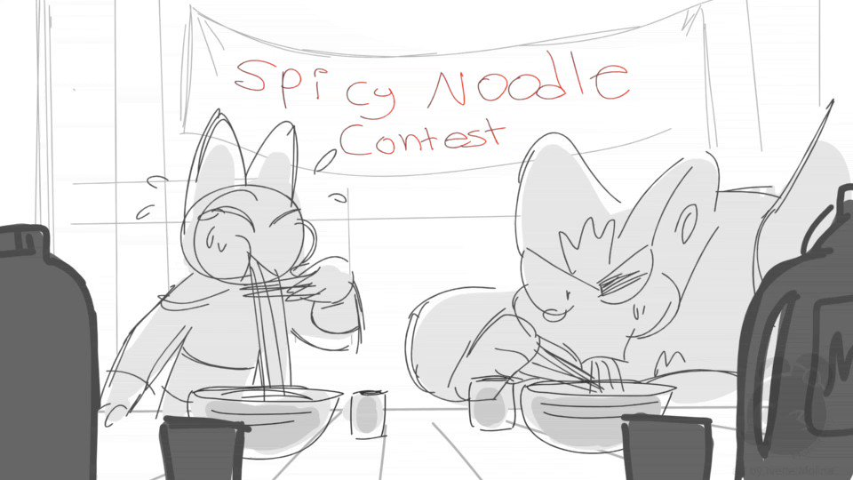 Storyartists Looking For Work On Twitter Spicy Noodle Contest Maomao Adorabat Badgerclops Maomaoheroesofpureheart Sketches Arte Her life and her abilities have both grown exponentially because mao mao chose to raise and train her like his own underling. spicy noodle contest