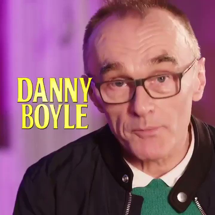 Image for the Tweet beginning: Danny Boyle & Richard Curtis