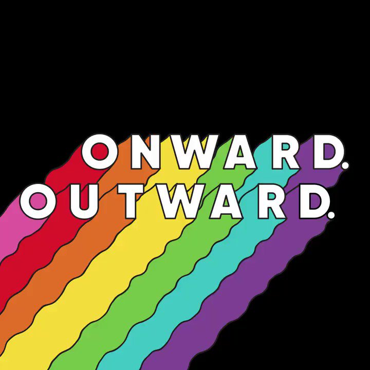 #Pride is a reminder that #advocacy can only happen with ongoing #awareness and #education in support of the #LGBTQIA+ community. Let's march. ONWARD. OUTWARD.