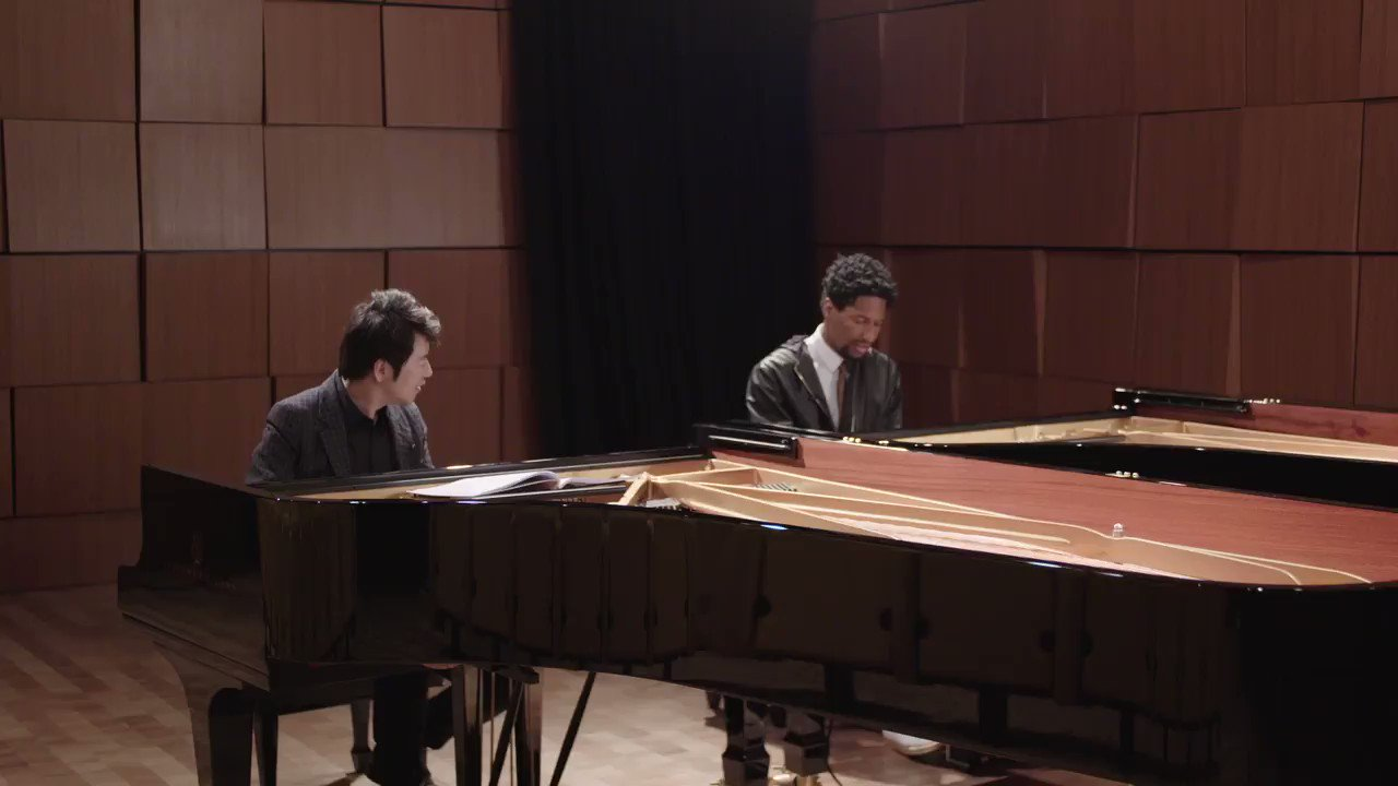 "@SteinwayAndSons Follow How many of you are going to practice ""Chopsticks"" this weekend after hearing Steinway Artists @lang_lang and @JonBatiste's rendition of this famous tune? Video courtesy of @UMG: fal.cn/s6.u"