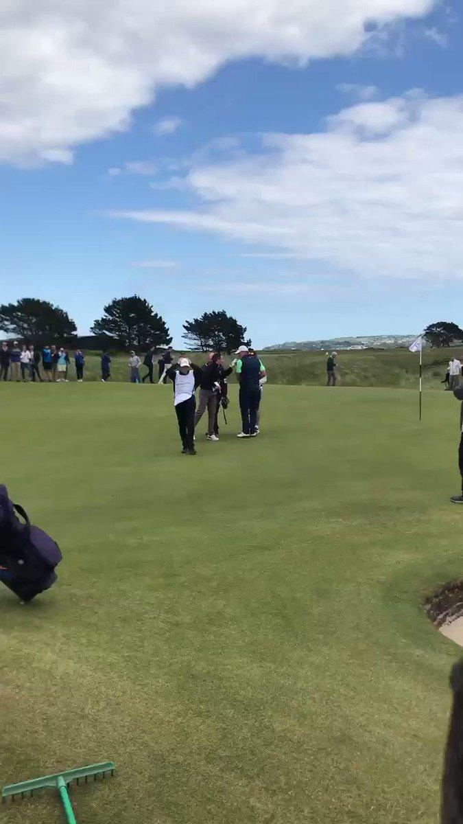 Image for the Tweet beginning: An Irishman makes the final