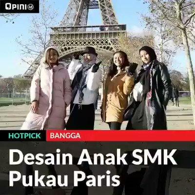 Anak2 SMK Indonesia membanggakan. 🇮🇩