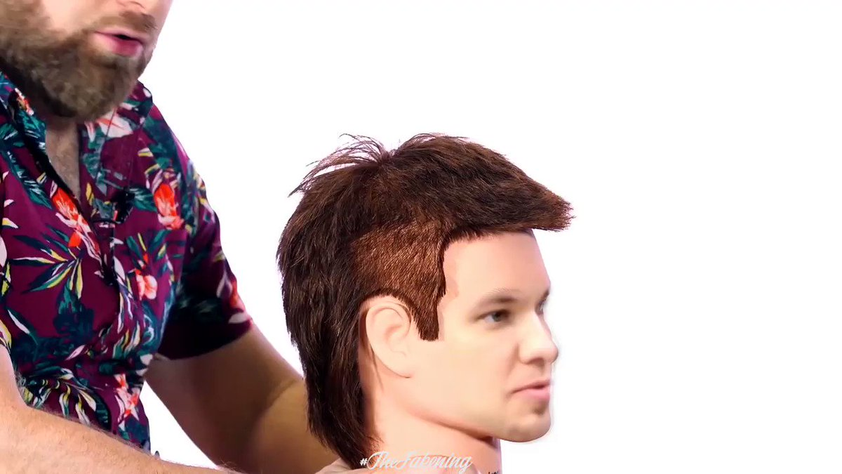 Did you know @theovon used to do hair modeling for @thesalonguy?   Theo Von on The Salon Guy deepfake.   #deepfake #deepfakes #faceswap