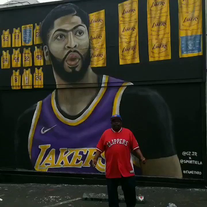 "Welcome 2 LA @AntDavis23!!! .. I'm Here 2 Let You ""ITS CLIPPER TIME!!! #LAOURWAY"