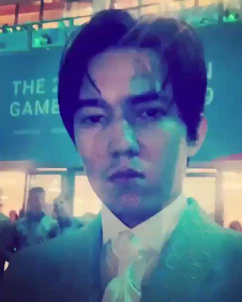 #ديماش 💞 بث هذا الفيديو قبل الغناء في افتتاح دورة الألعاب الأولمبية الأوروبية 2019 في منسك  https://www.instagram.com/p/BzAdHFFA87K/?igshid=fwmnqyx89d9q… @dimash_official  #Dimash