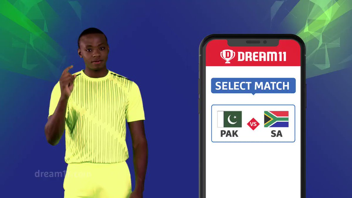 Both the teams in green need to leave their World Cup blues behind. Which team is going to get their second win tomorrow? Click here to make your #Dream11 - http://d11.co.in/WorldCup-2019     #YeGameHaiMahaan #CWC19 #PAKvSA