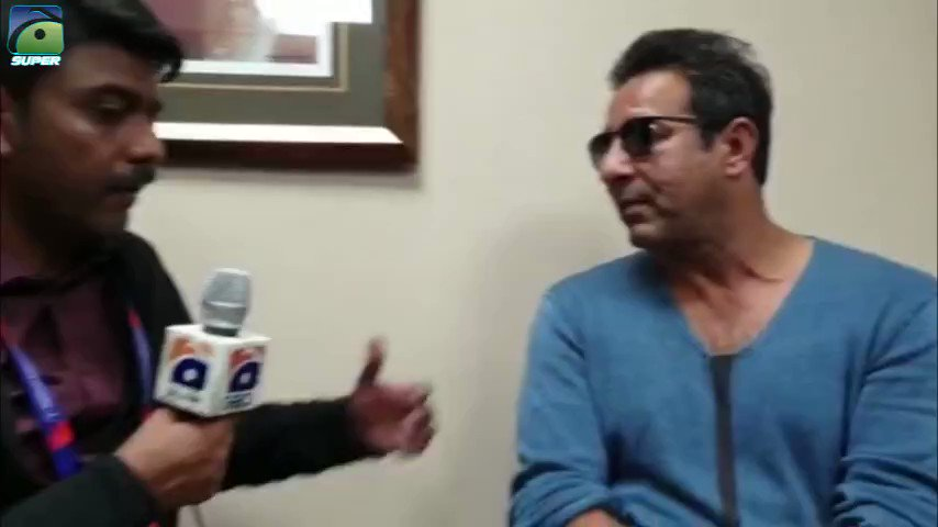 """If I were #SarfarazAhmed I'd have broken the boy's phone and called his family over,"" @wasimakramlive shares with @faizanlakhani his disappointment at fans' abusive behaviour towards players during #WorldCup2019"