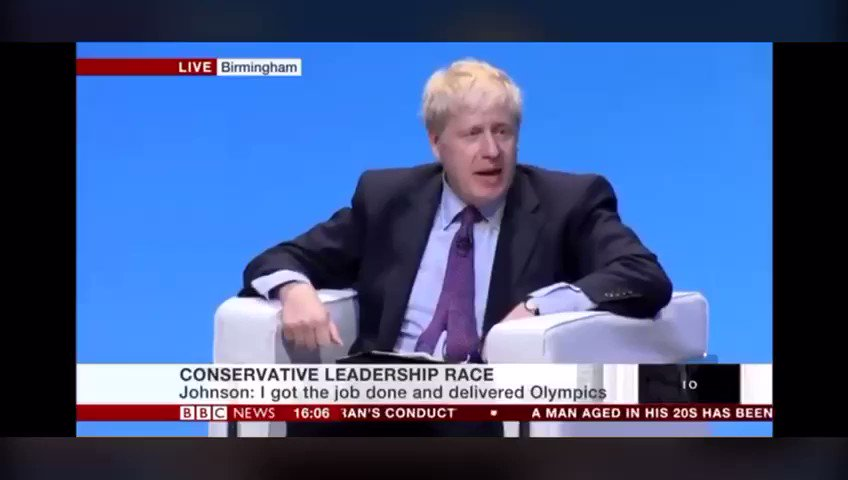 """If I was debating Boris Johnson on TV tonight, I'd just quote this back to him over and over again:   """"From crash of 2008 onwards... can you think of any politician who stuck up for the bankers as much as I did? I defended them day in, day out"""""""