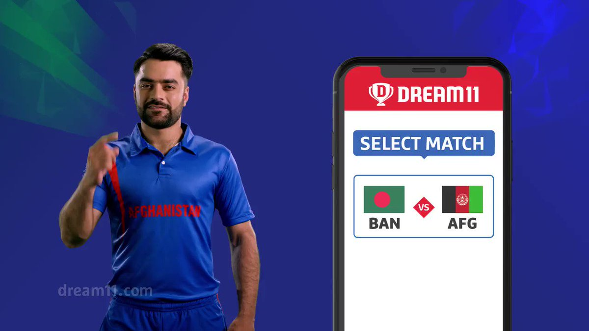 The Tigers take on the Afghans tomorrow. Are you ready with your #Dream11 for this match? If not, Click here to make your teams - http://d11.co.in/WorldCup-2019 #YeGameHaiMahaan #CWC19 #BANvAFG