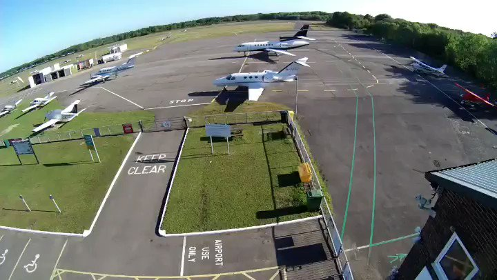A day in the life of Blackbushe.  7 executive departures and 6 arrivals.  All safely integrated with around 160 general aviation movements! . #TimeLapse #GeneralAviation #Bizjet #PrivateJet #Airport