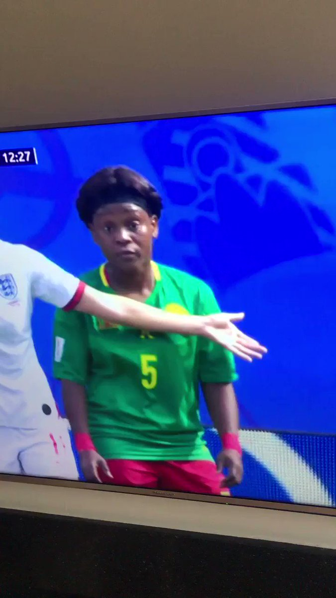 Fuckin disgusting that #ENGvCMR