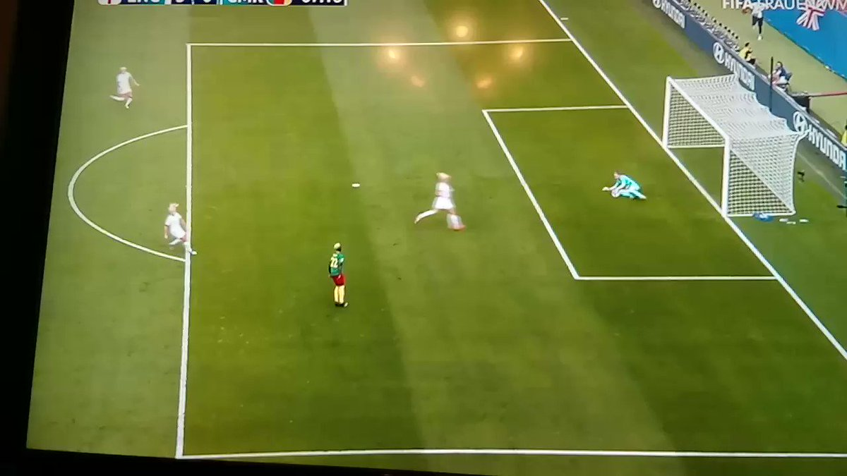 Cameroon, I understand that You're angry but this is disrespectful 😟😶#WorldCup2019