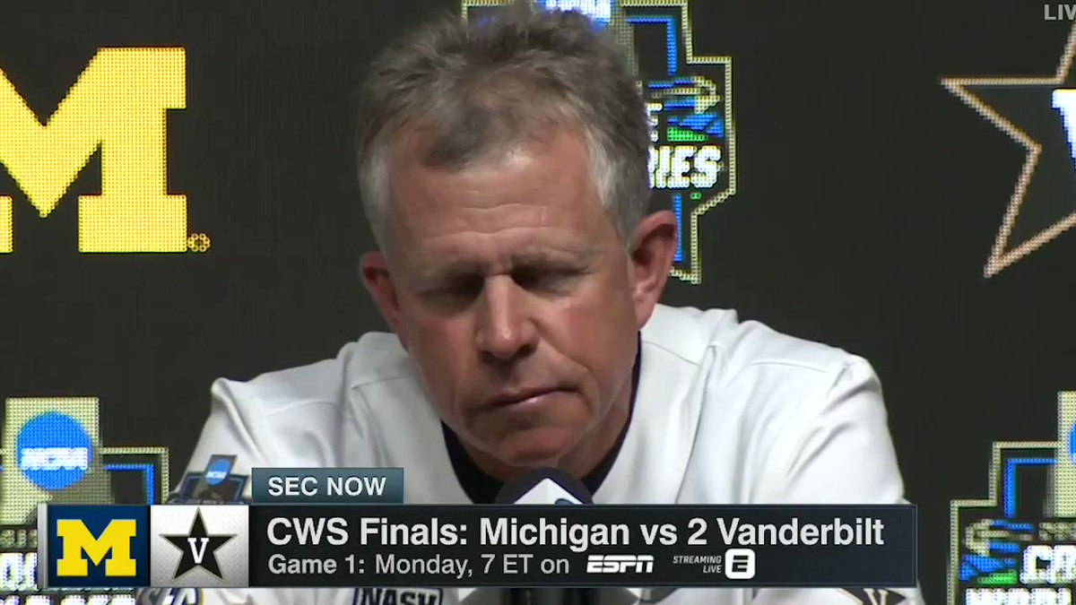 Vanderbilt Manager's Powerful Message About College Baseball Is Going Viral