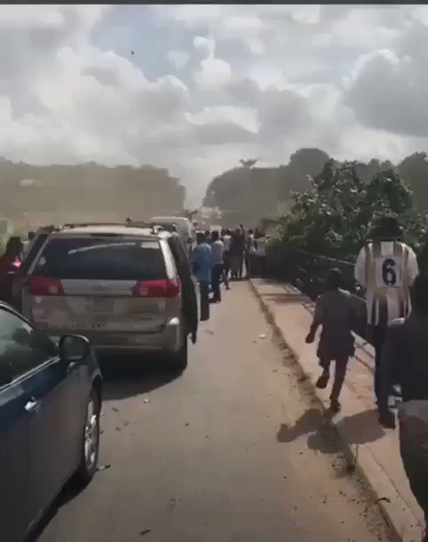 Nigerian man calls for his helicopter to be used to take him to his destination, after being stuck in Lagos traffic for hours.