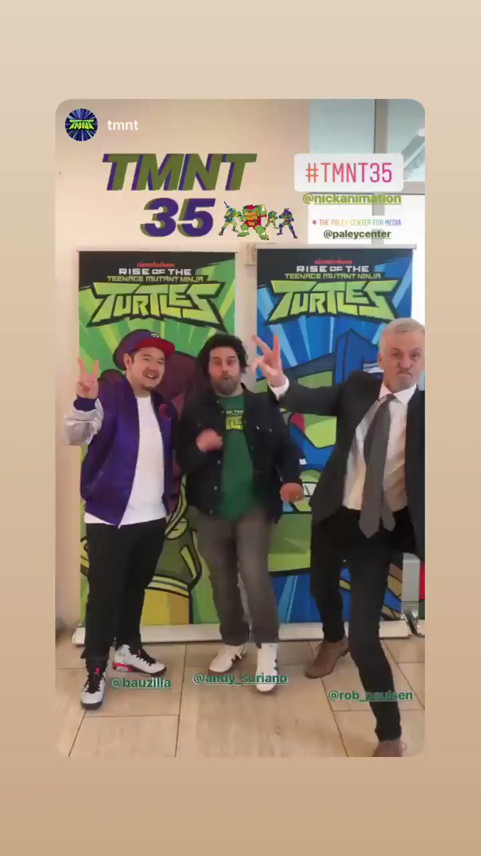 35 YEARS OF TMNT!! Thank you, @paleycenter!
