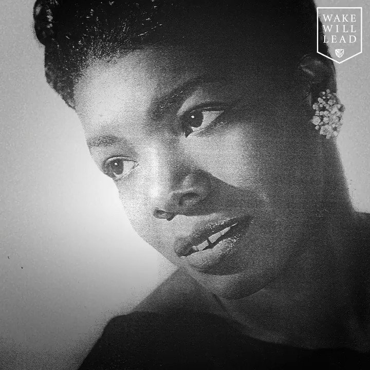 Dr. Maya Angelou celebrated all that makes us different while inspiring us to come together. We miss her. #WakeWill #ProHumanitate https://t.co/3SLVRLk0Qo