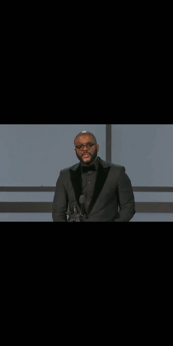 Had to post these powerful words Tyler Perry spoke tonight ✊🏾❤💪🏾