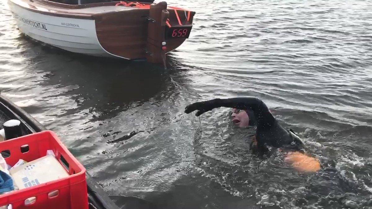 Maarten van der Weijden voorbij punt waar hij vorig jaar strandde